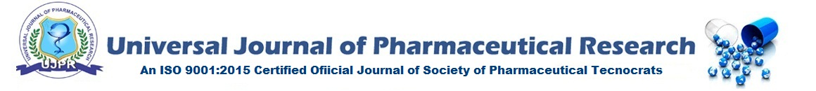 Universal Journal of Pharmaceutical Research (UJPR)